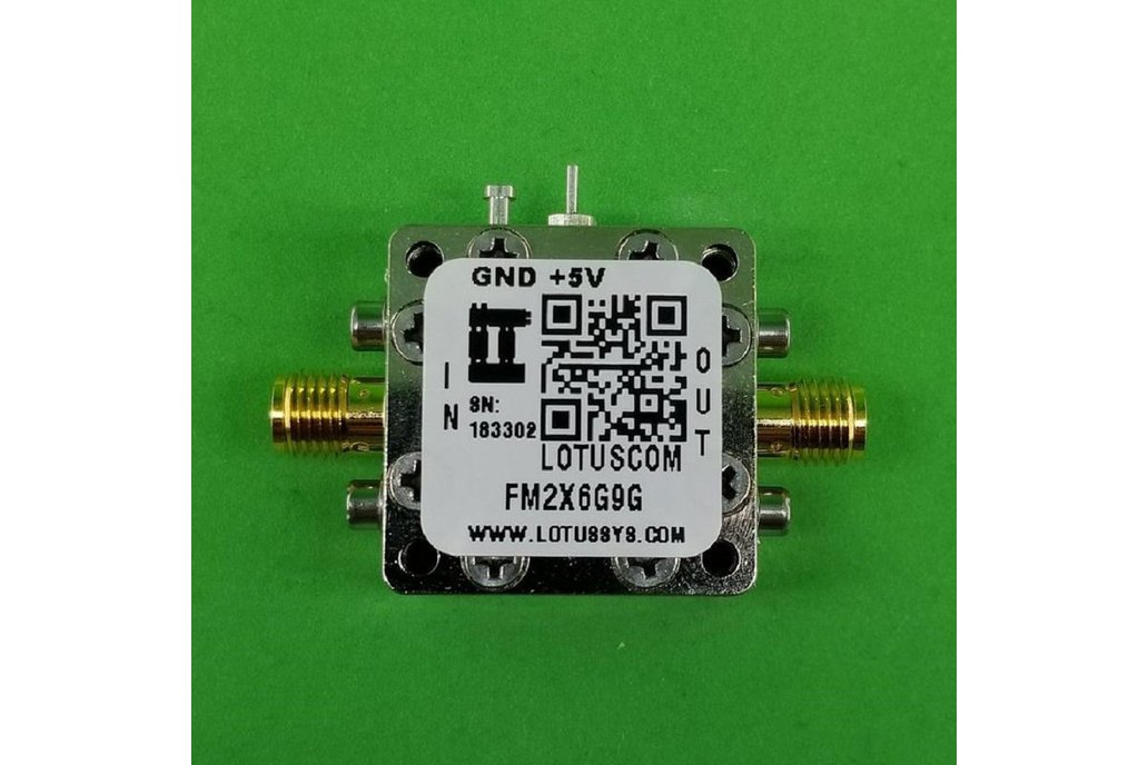 Freq. Multiplier X2 (OUTPUT 6G to 9G Hz) FM2X6G9G 1