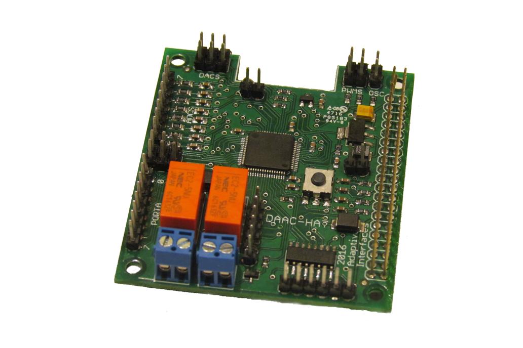 DAAC-Hat for Raspberry Pi 1