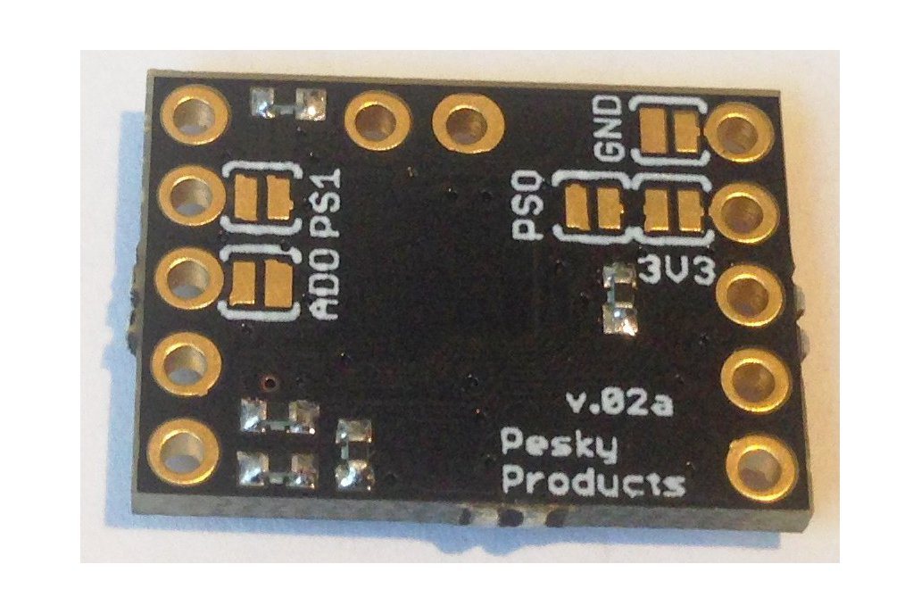 BNO-055 9-axis motion sensor with hardware fusion 2