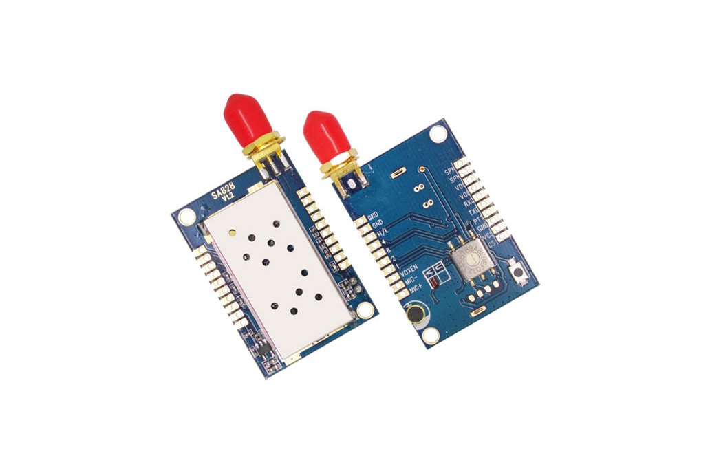 2PCS 1W All-In-One  Walkie Talkie Module SA828  6