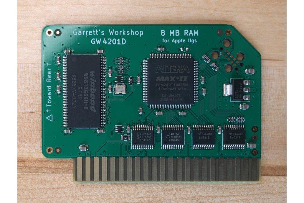 RAM2GS II (GW4201D) -- 8MB RAM for Apple IIgs 1