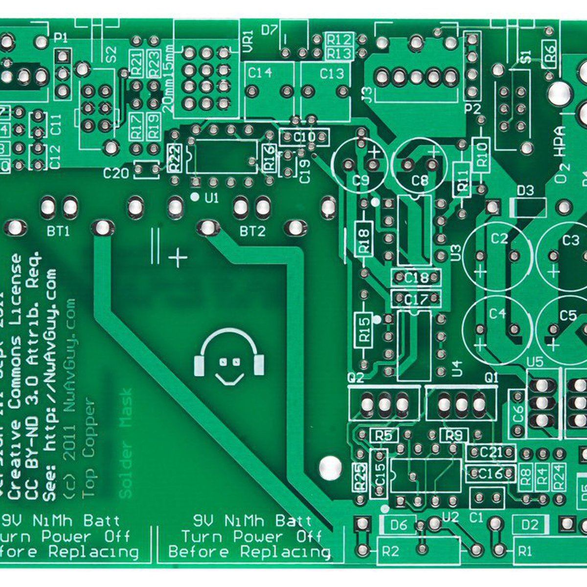 Objective2 O2 Headphone Amp Pcb From Sieger82 On Tindie What Is A Every Gadget And Electronics Enthusiast Should