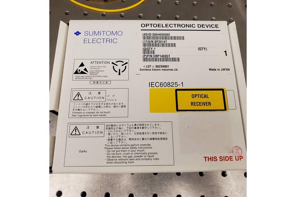 Sumitomo PIN InGaAs Amplified photodetector 1