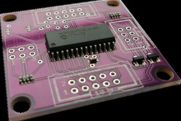 16-bit i2c GPIO expander board for Arduino