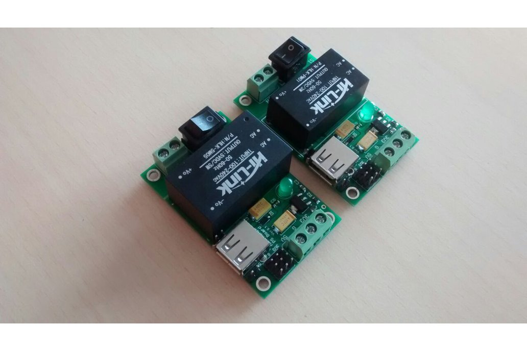 AC-DC 220V to 5V 3.3V/600mA 3W Power Supply Module 6