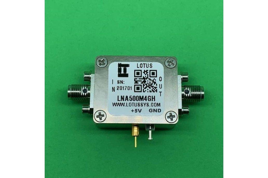 Amplifier LNA 1.3dB NF 500MHz to 4GHz 1