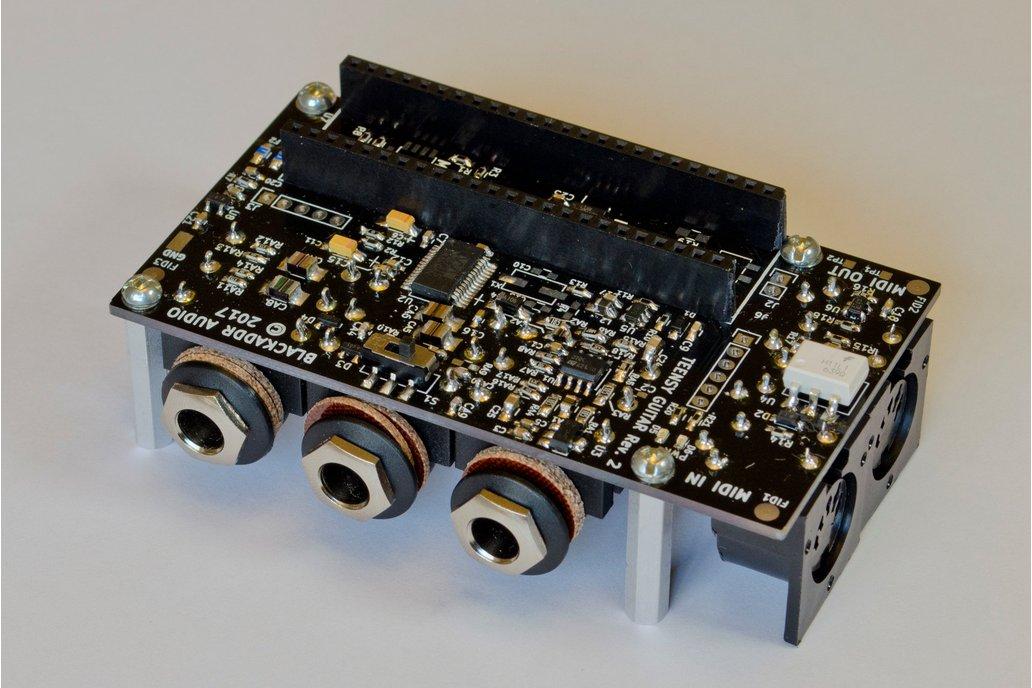 Arduino Teensy Guitar Audio Shield 1