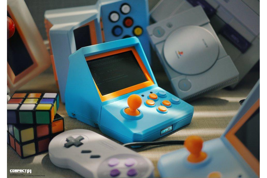 CompactPi Mini Arcade - CPi01 1