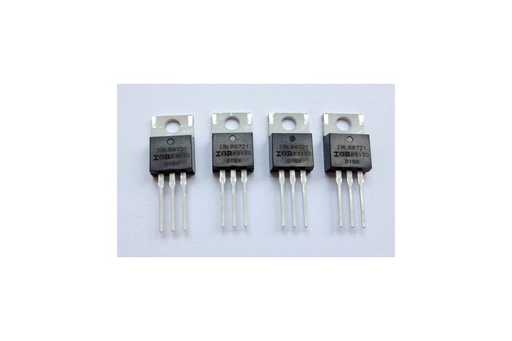 4x IRLB8721 MOSFETs 1