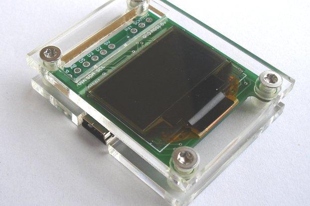 ATMega328p board with OLED Display