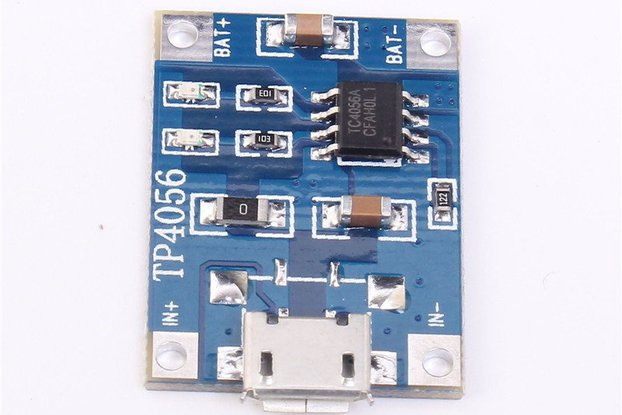 TP4056 5V 1A Micro USB Charger Module