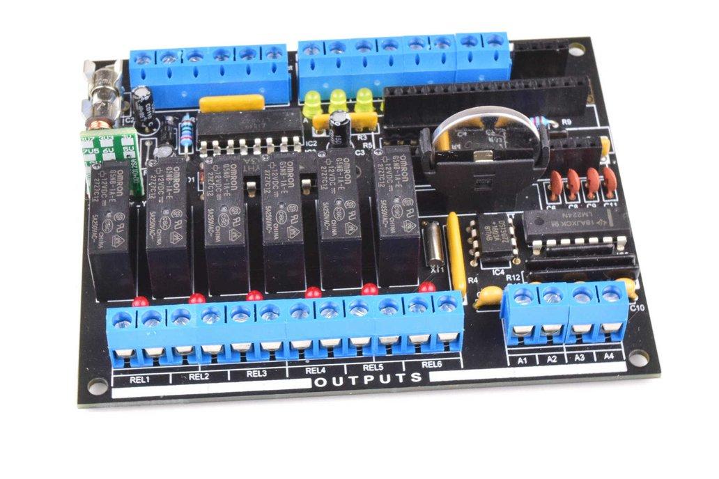 Arduino NANO based DIY PLC Kit CANADUINO® MEGA328 1