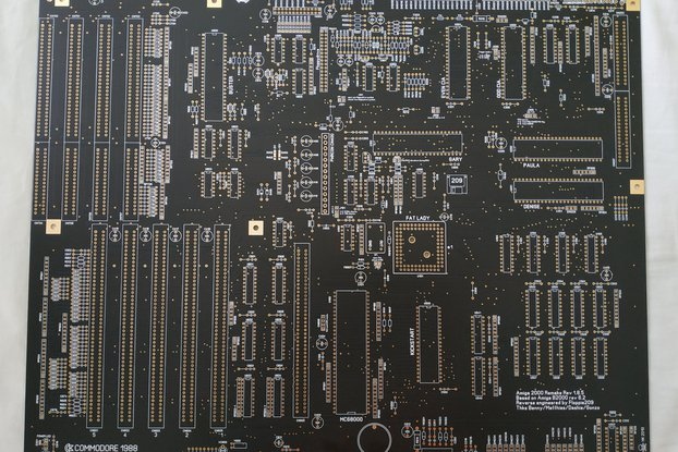 Amiga 2000 Replica PCB by Floppie209