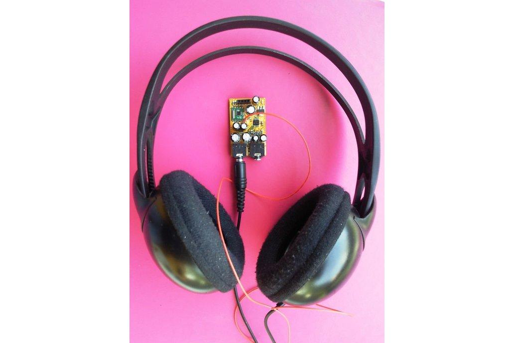 Arduino controlled tiny FM radio - audio  mixer 1