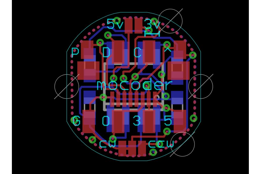 Mocoder, AS5600 Magnetic Encoder 8