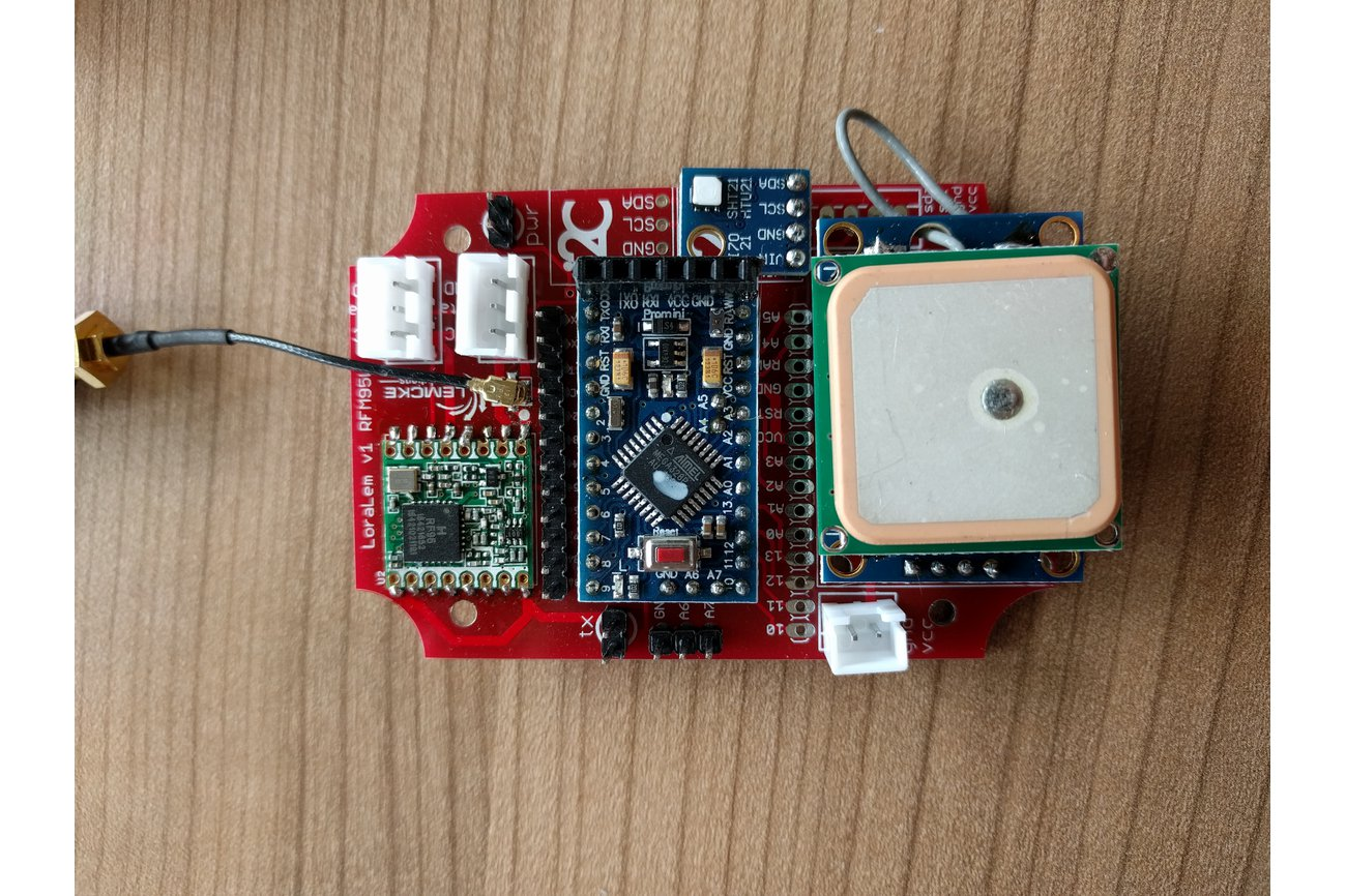 LoRaLem RFM95 LoRaWAN development board