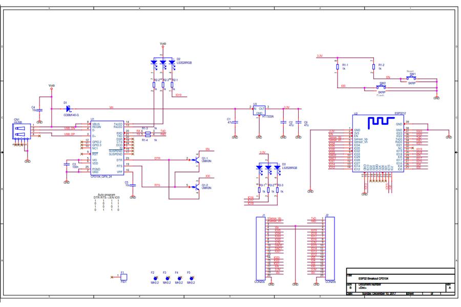 ESP32 Dev Board WiFi+Bluetooth