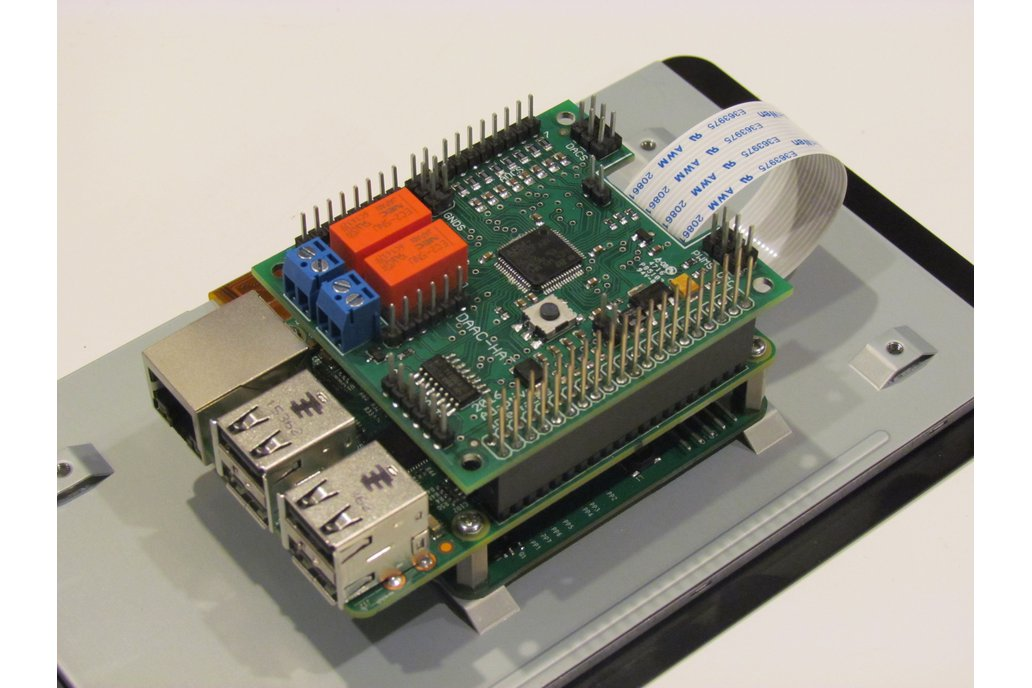 DAAC-Hat for Raspberry Pi