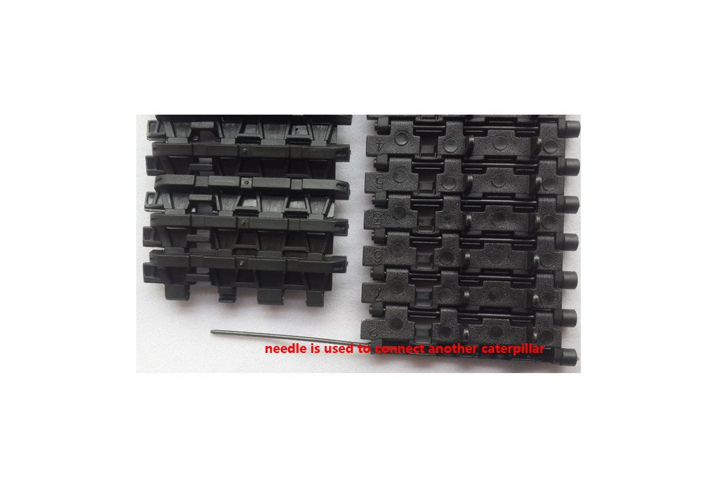 2pcs Track Wheel for Tank Chassis 1:16 3818  1
