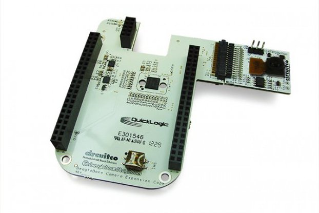 Beaglebone & Camera (3.1Mp) cape + DVI cape