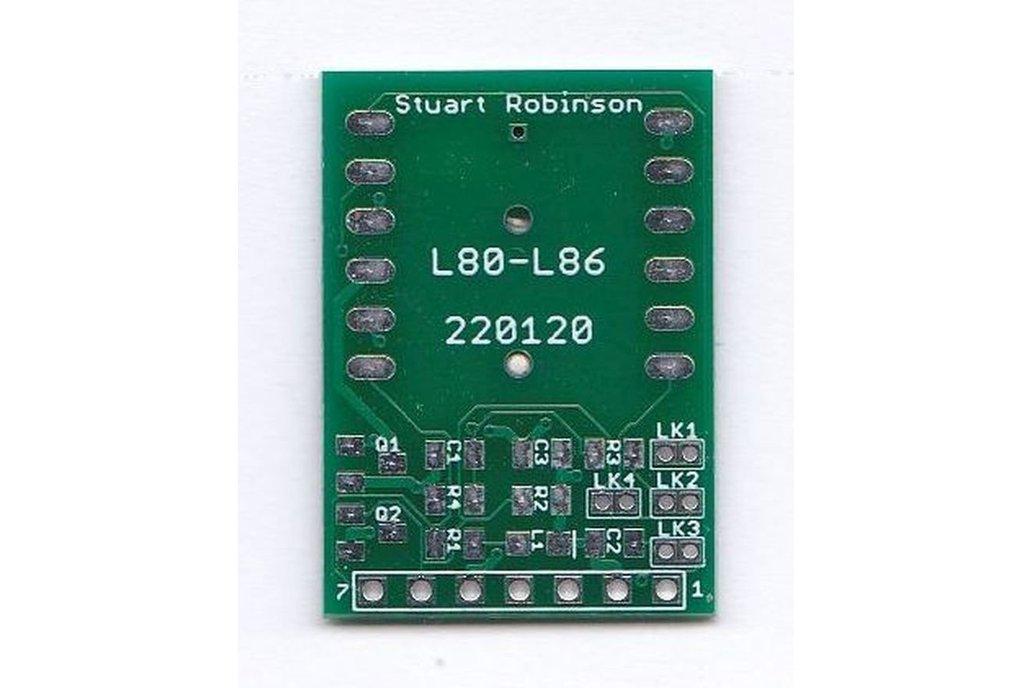 Breakout Board Quectel L80 and L86 GPS 1