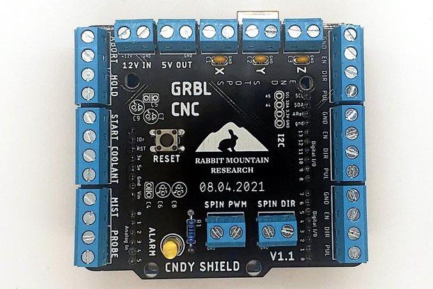 CNDY Shield : GRBL CNC Breakout Board (Kit)