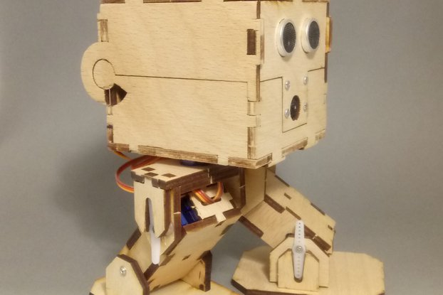 BOB-303 Robotic Biped Experimentation Kit