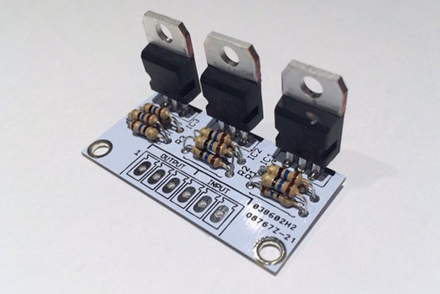 3-Ch. Constant Current LED driver PCB