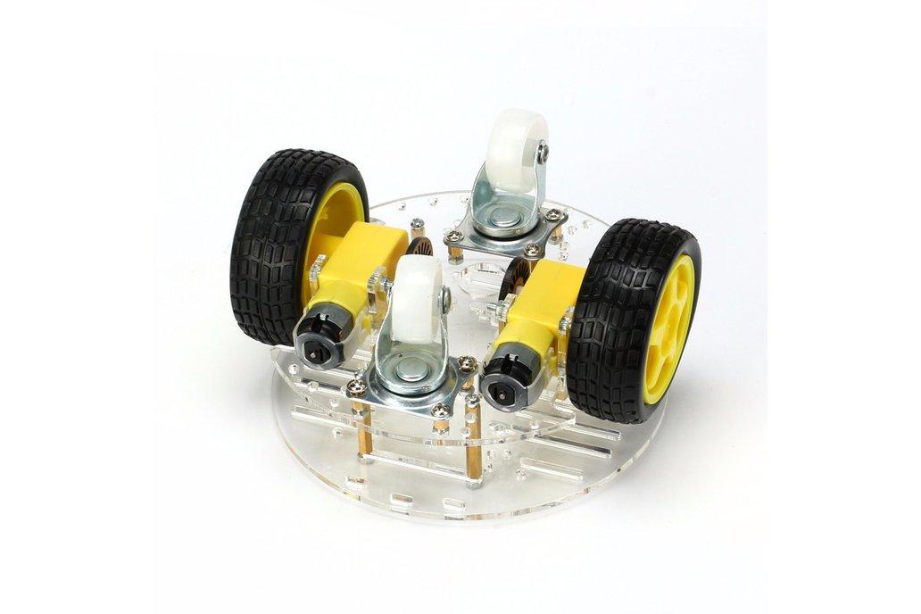 Round 2 Wheel-Drive Robot Car Kit 6