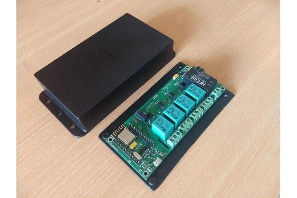 Node MCU ESP8266 WIFI board 4 Relay iot with case 3