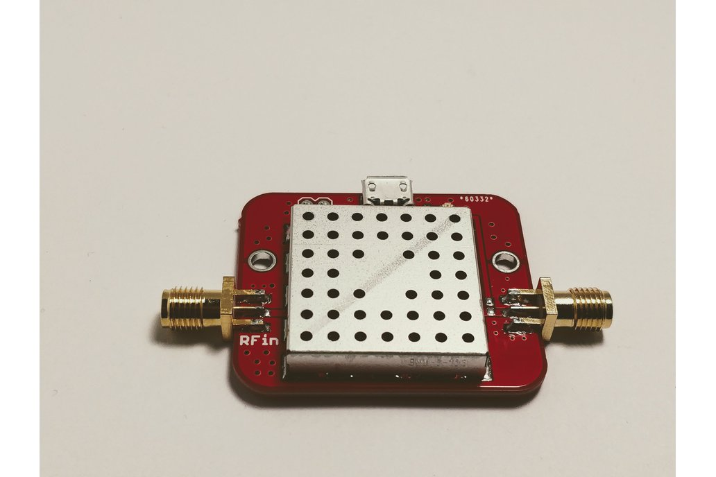 FM Notch Filter with Low Noise Amplifier LNA 4 GHz 1