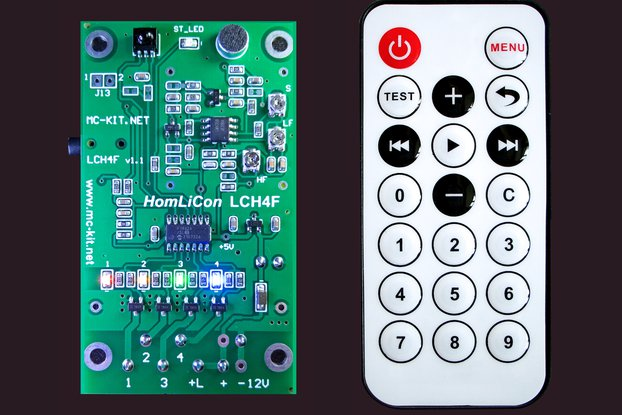 Color Organ, LED Sequencer - HomLiCon LCH4F