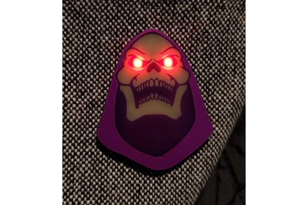 """Myah!"" Badge (Inspired by Skeletor) 1"