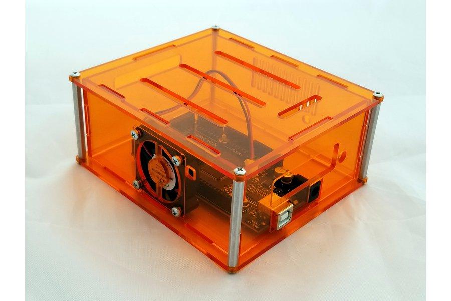 "Arduino Project Enclosure with fan- ""Mega-II"""