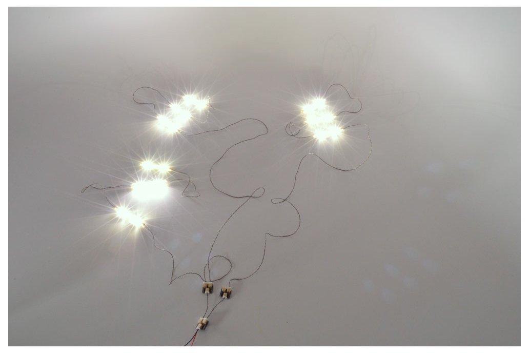 Warm White LED Light Strip Starter Kit 4