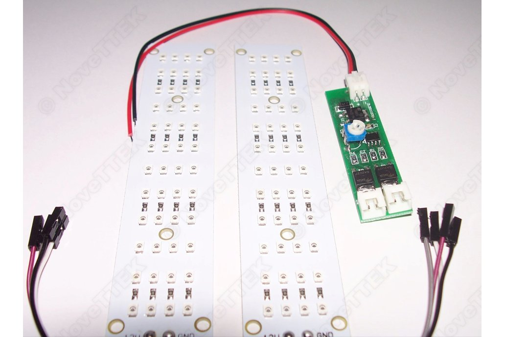 led high power 5 amps dual flasher adjustable from novettek on tindie