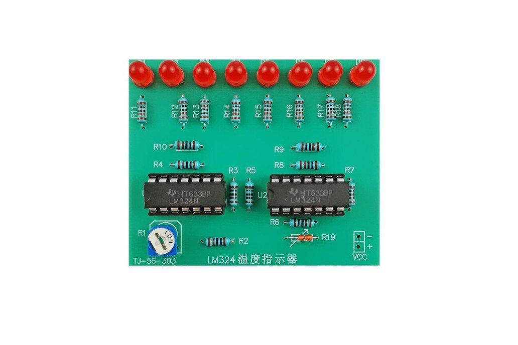 DIY Kit LM324 Temperature Indicator Sensor (13608) 1