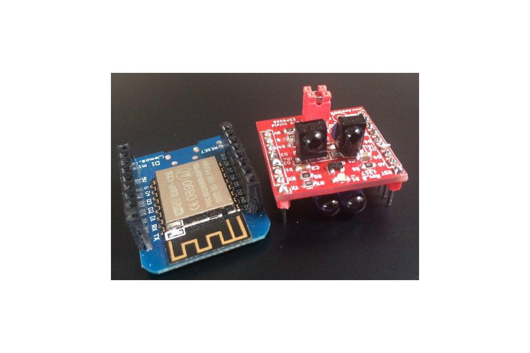 ESP8266/ESP32 TRx, advanced infrared module (IR) 4