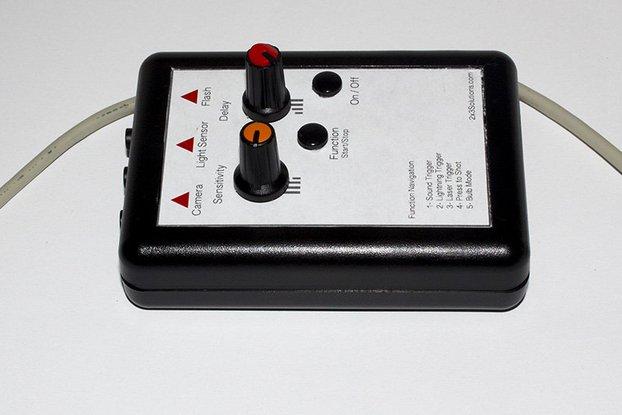 Sound, Laser, Lightning Trigger for DSLR Cameras