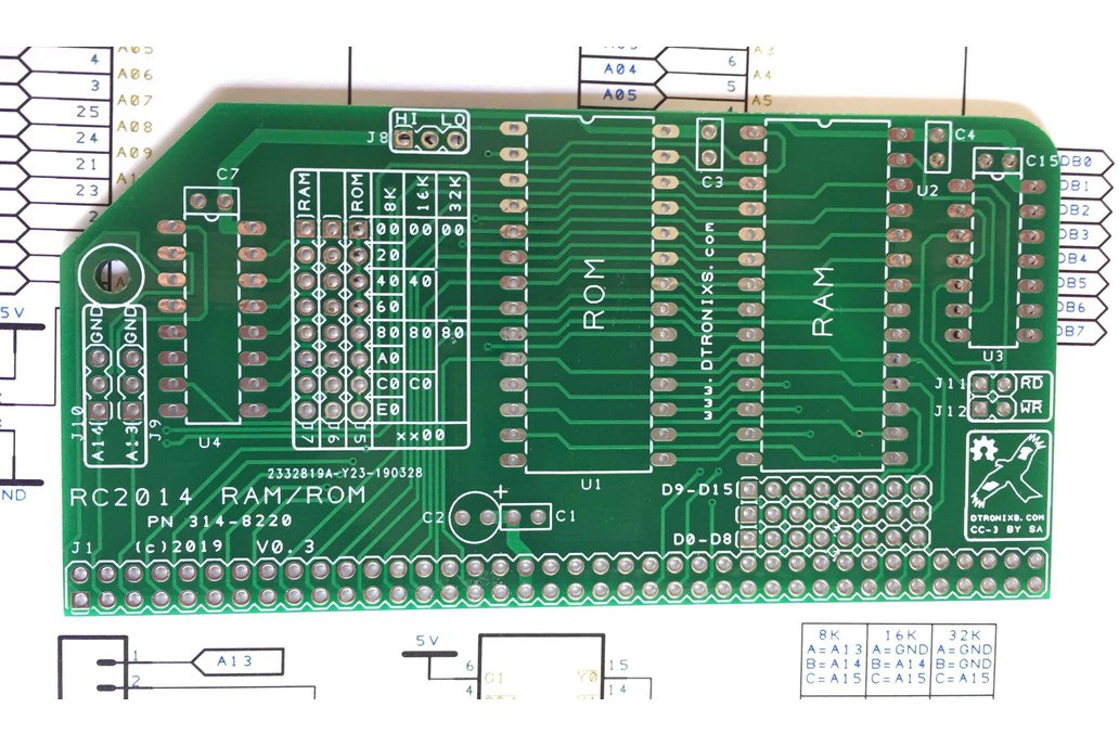 ROM/RAM card for RC2014 1