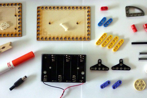 Bricktronics Drawbot Parts Pack