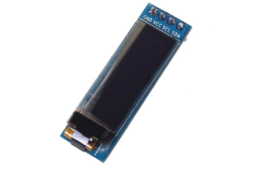 """0.91"""" Inch 128x32 I2C IIC Blue OLED  (9934)"""