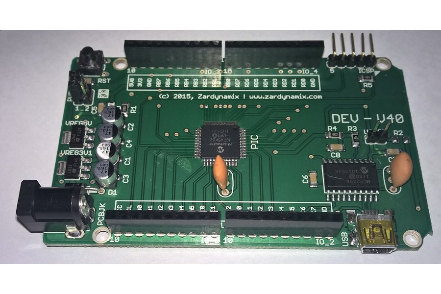 DEVCC - V40 with PIC18F45K22