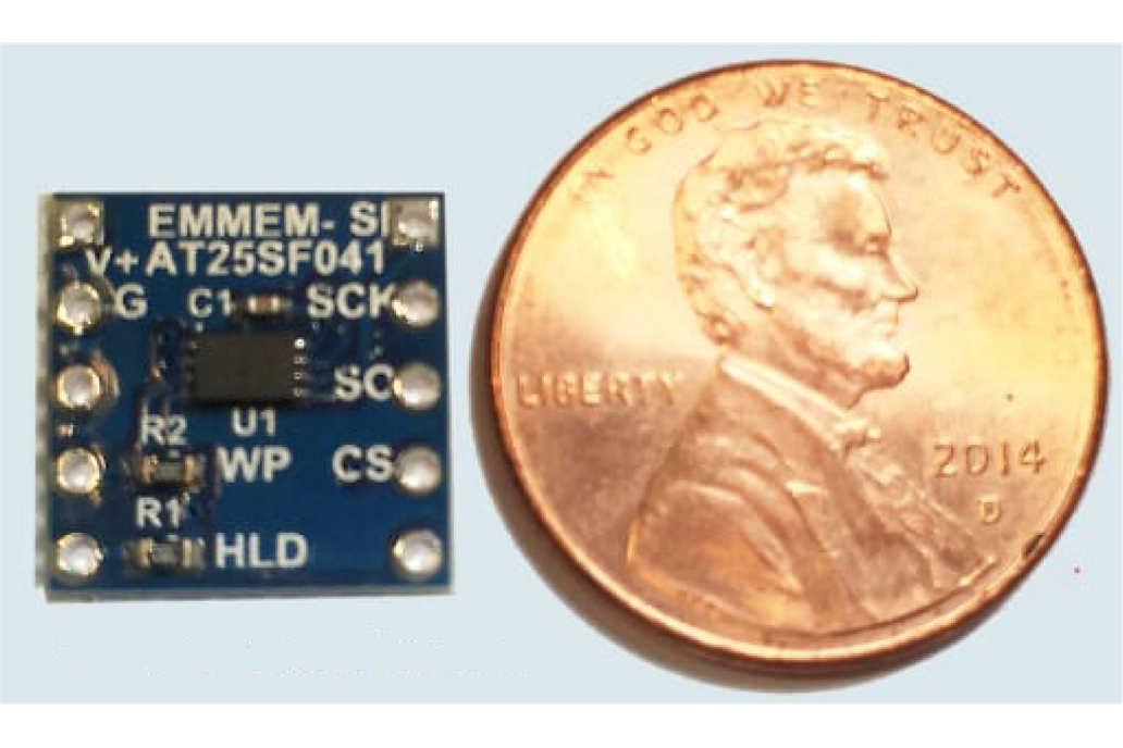 smMEM-AT25SF041 Serial Flash Device 1