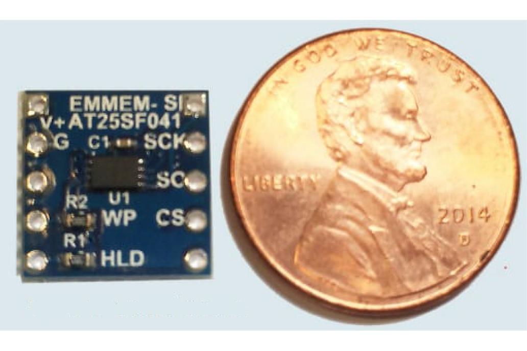 smMEM-AT25SF041 Serial Flash Device 1