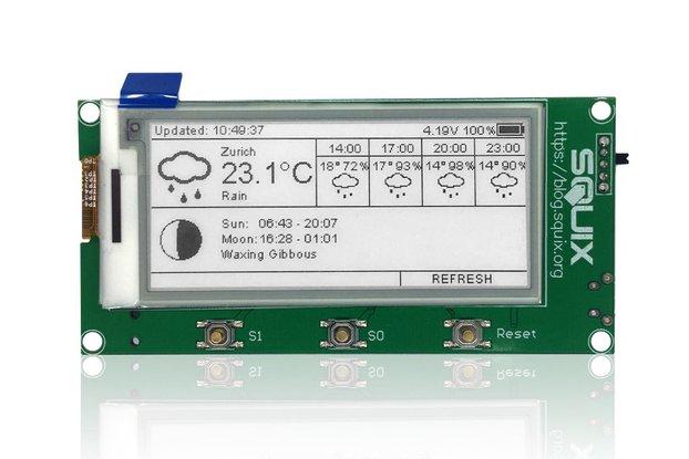 """ESP8266 - 2.9"""" ESPaper Lite Module, WiFi ePaper"""