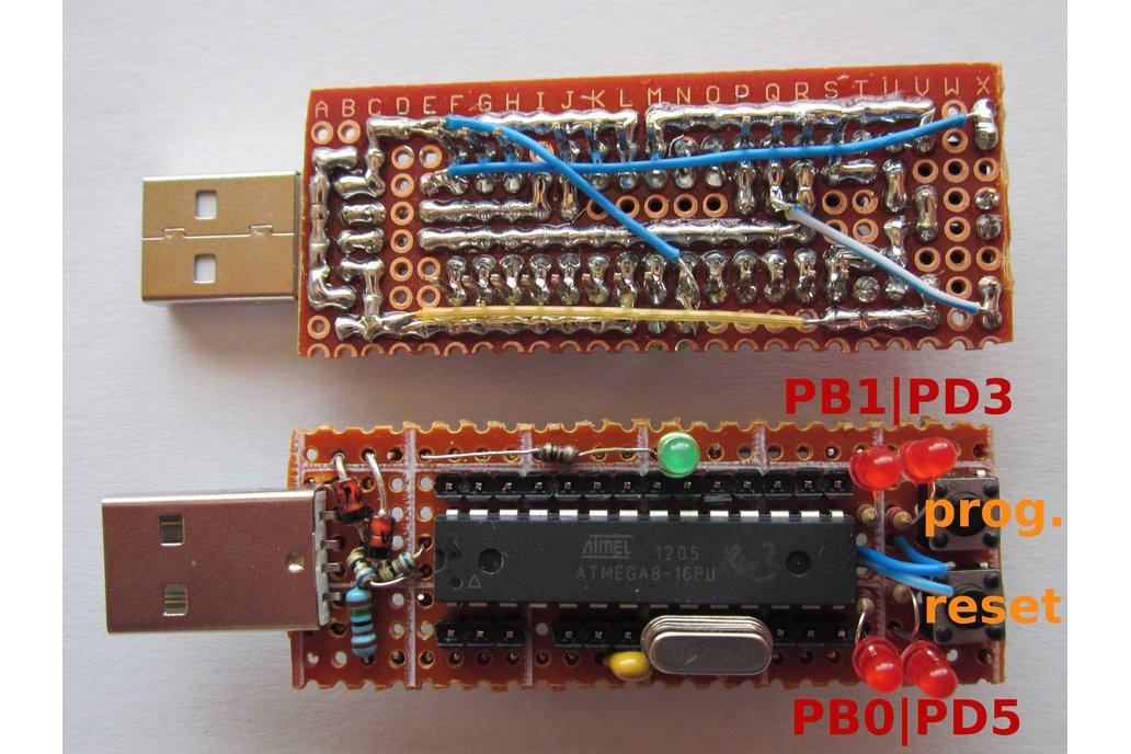 tinyUSBboard - Rev. 3 THT kit 1