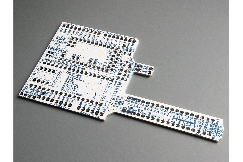 ArduSHIELD - universal shield for Arduino 4