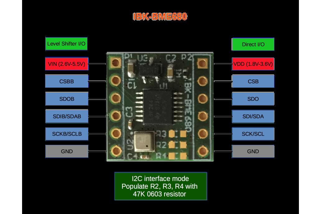 BME680 Temperature, Pressure, Humidity, Gas sensor 1