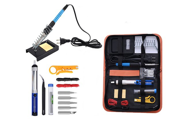 AC 110V 60W Soldering Iron Kit 15-in-1 (GY18197)